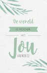 Trouwkaart quote bohemian